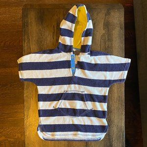 BABY BODEN hooded swim cover up 12-18 months